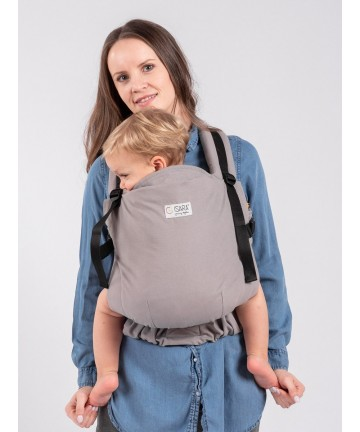 ISARA The Trendsetter Manhattan toddler, marsupiu port bebe ergonomic ajustabil bumbac organic