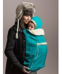 baby carrier ISARA winter gear cover turquoise