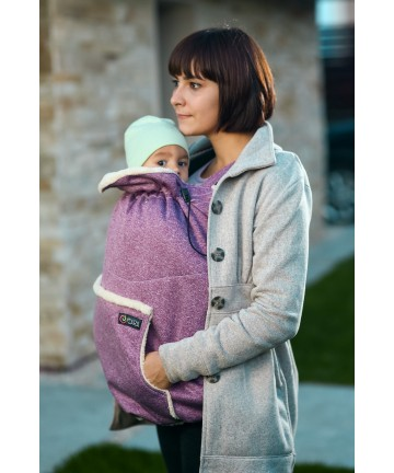 baby carrier ISARA winter gear cover wild cherry melange